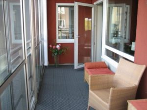 Интерьер балкона от Пластбург