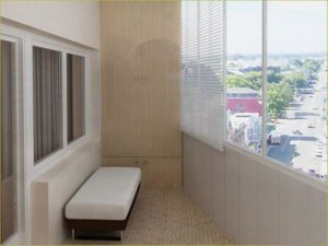 Теплый балкон для дома