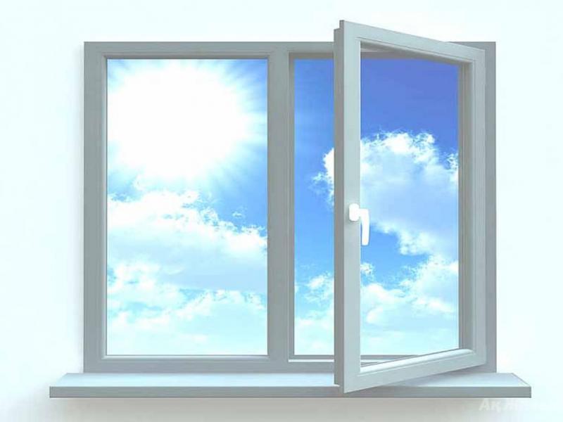 красивое белое окно