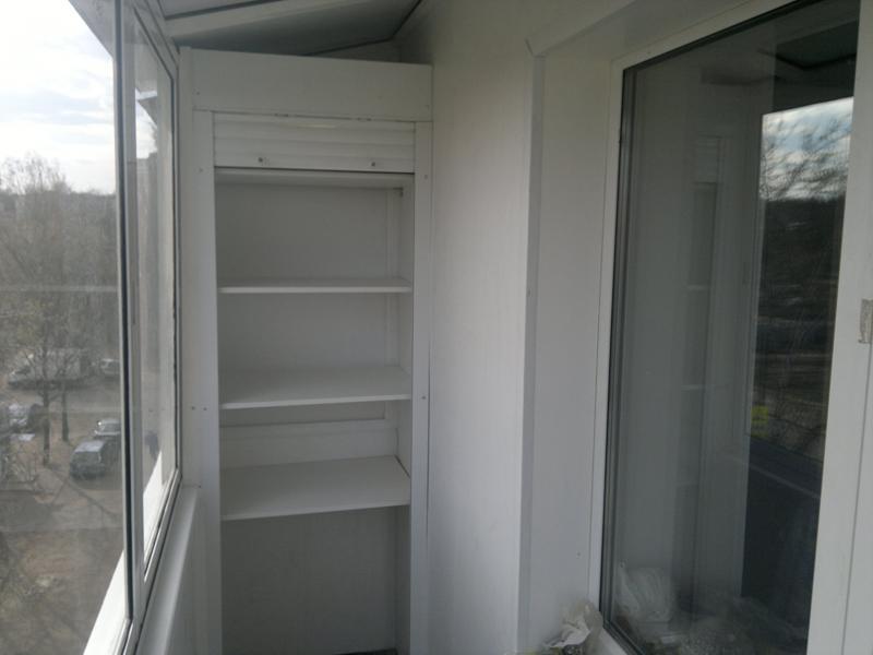 функциональный шкаф на лоджию