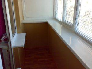 установка и отделка балкона под ключ