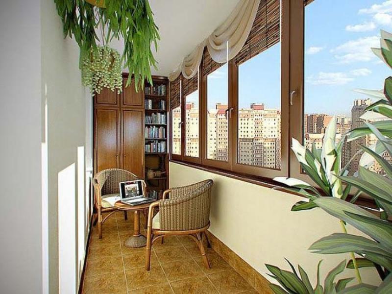 вариант балкона в дом