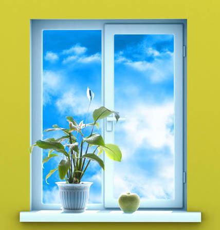красивое окно