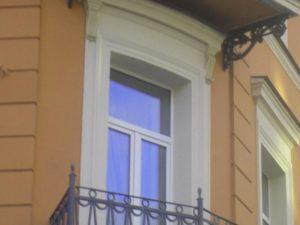 пластиковое окно в старый дом