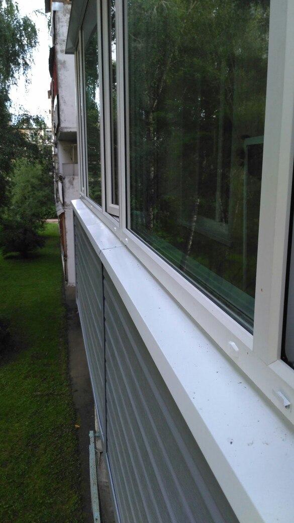 Новый и красивый балкон