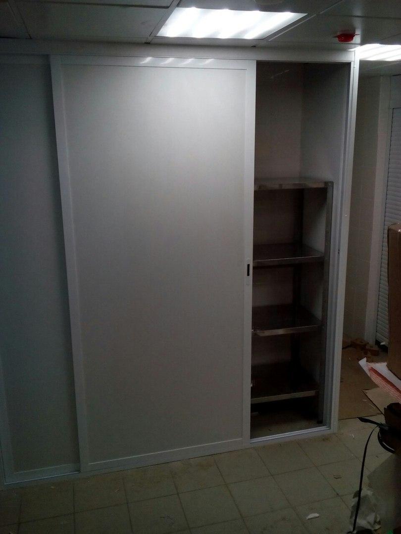 шкаф пвх и алюминей