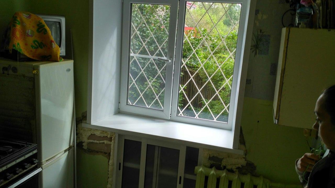 Качественная и аккуратная установка окна