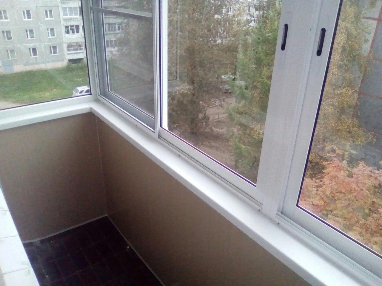балкон под ключ успей заказать