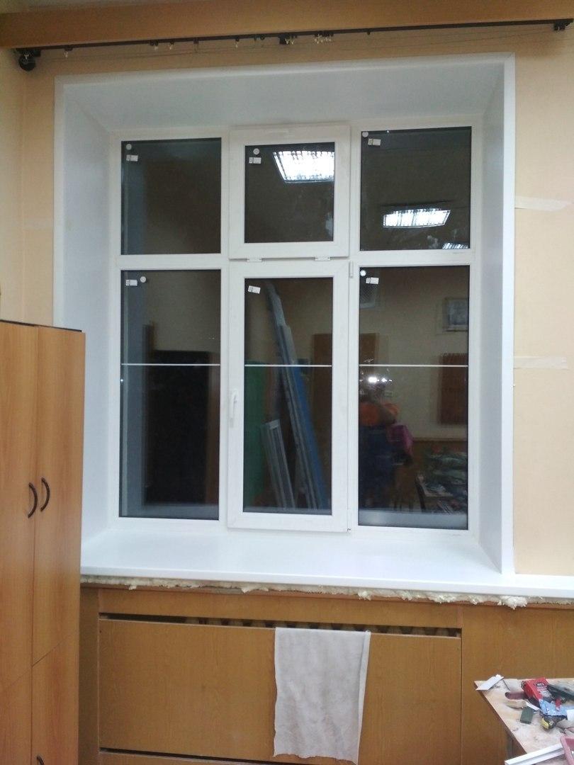 окно после монтажа