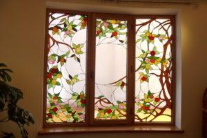 Окна с витражным стеклом