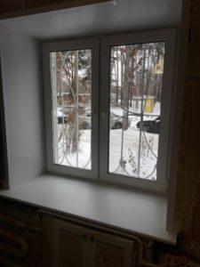 Аккуратно и быстро установили окно
