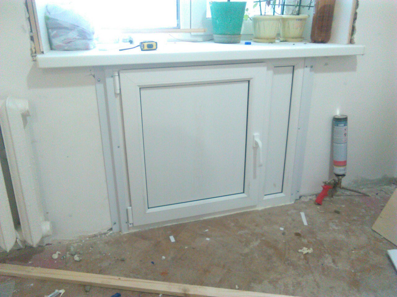 Новый подоконный холодильник
