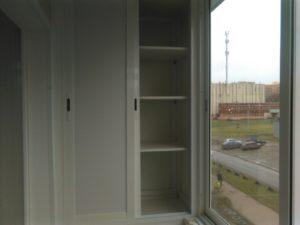 балкон в Ярославле со шкафом