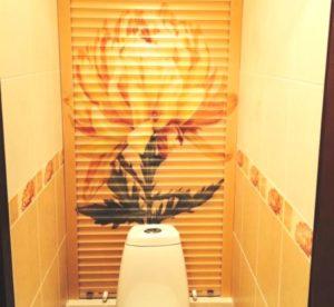 Жалюзи в туалет