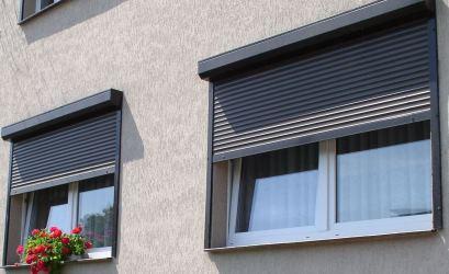 роллеты черные на окна