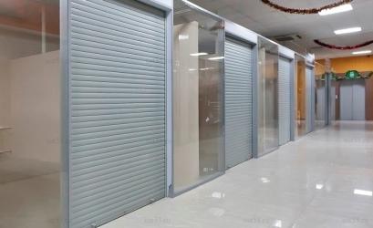 защитные двери в магазины