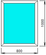 8001000 - Окна на дачу