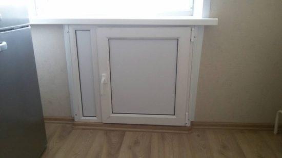 подоконный холодильник ПВХ