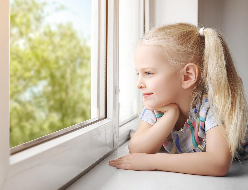 Окно для детской