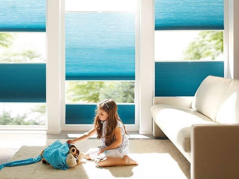 Окно с солнцезащитой