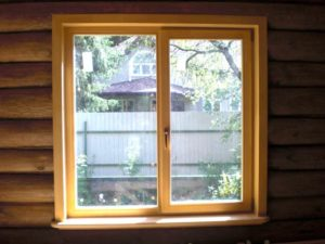 окно на дачу
